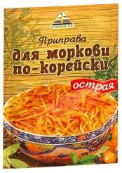Приправа д/моркови по-корейски остр. 30гр
